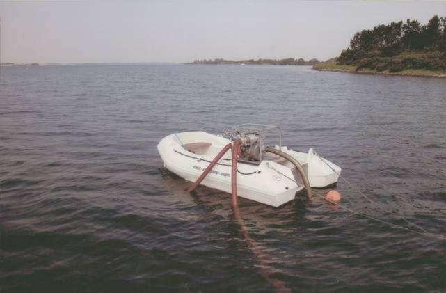 Flåde med pumpemateriel